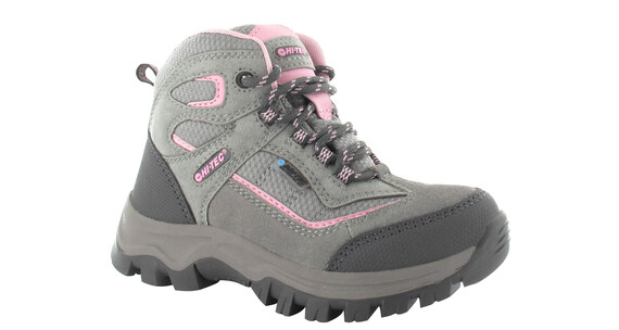 Hi-Tec Hillside WP Shoes Girls Charcoal/Blush